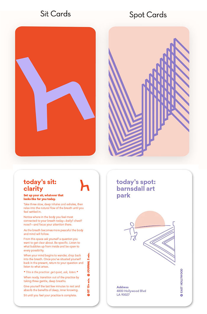 sit cards and spot cards