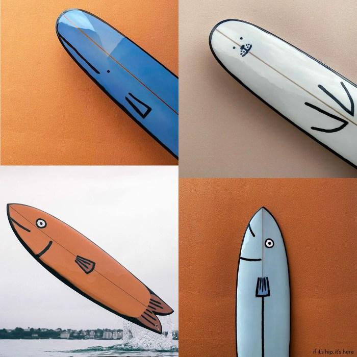 ocean animal surfboards