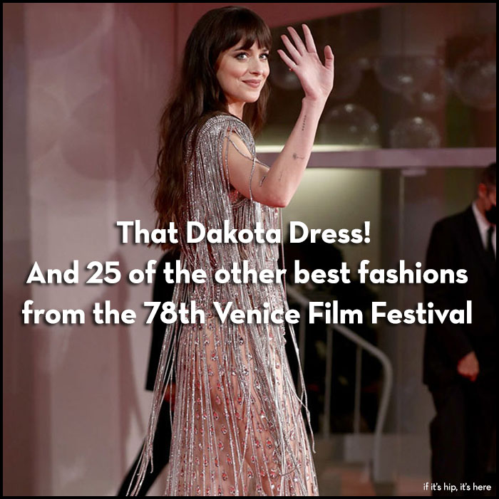 Read more about the article That Dakota Johnson Dress! The Best Fashion at the Venice Film Festival.