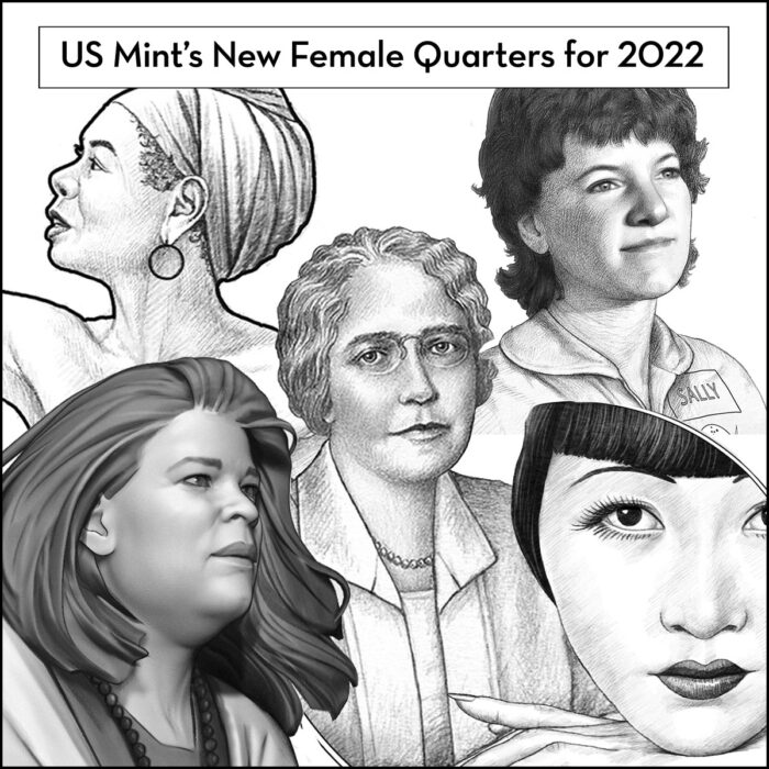 Read more about the article New U.S. Quarters To Celebrate 5 Distinguished American Women Every Year for the Next Four.