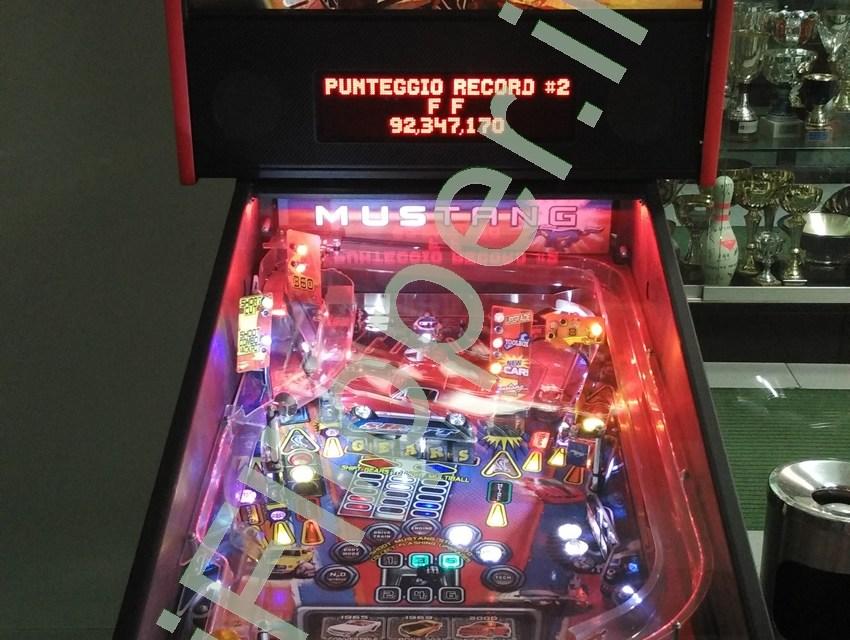 Pinball Mustang