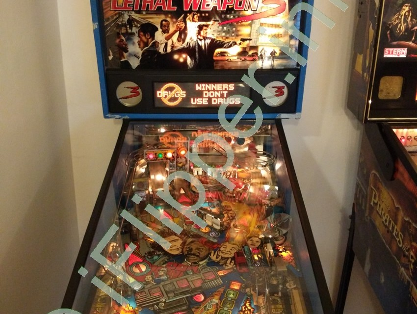 Pinball Lethal Weapon 3