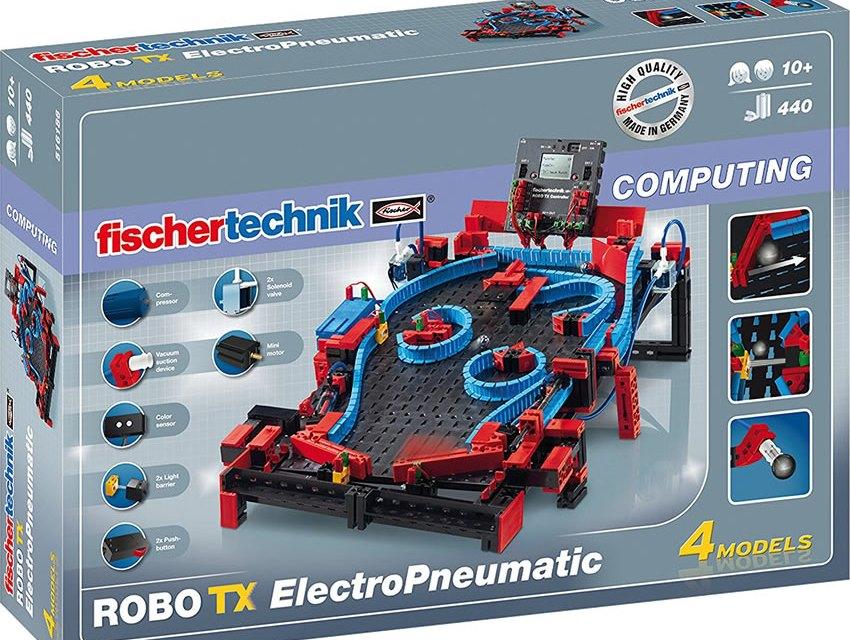 Costruite il vostro flipper da tavolo con FischerTechnik