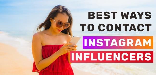 Best-ways-to-contact-instagram-influencers
