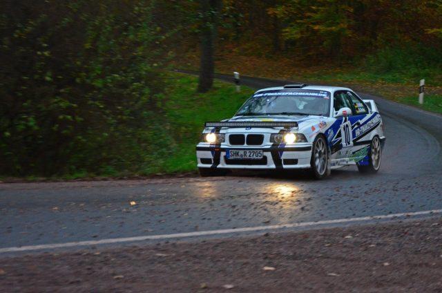 Nick Heilborn - Benjamin Melde Rallye Race Gollert 2017 BMW M3