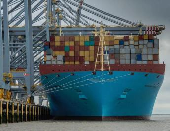 ifmat - Maersk line, a unit of A.P. Moller-Maersk, stops business at ports managed by Tidewater Middle East