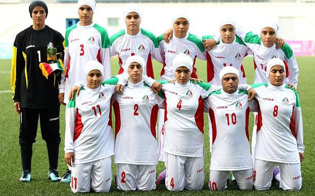 ifmat - Eight of Iran's women's football team 'are men'