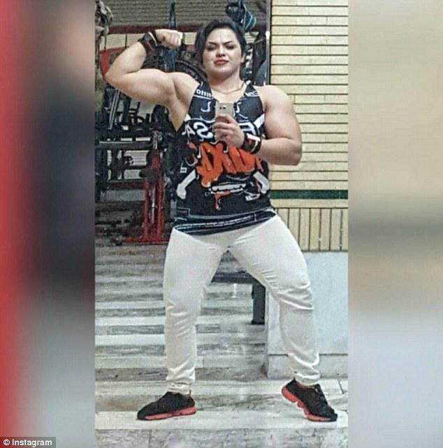 ifmat - Female bodybuilder is thrown in jail in Iran