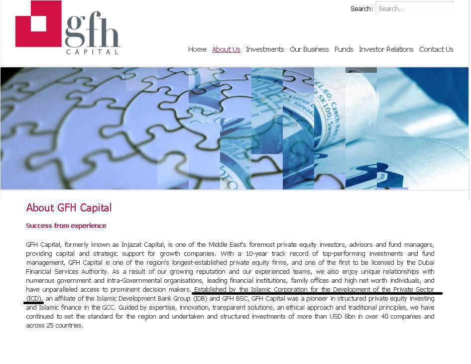 ifmat - Gfh capital ICD