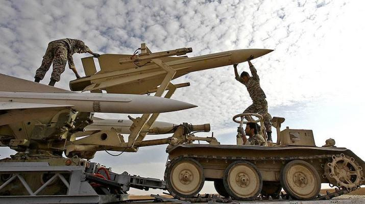 ifmat - Iran launches 'advanced' rockets during military exercises