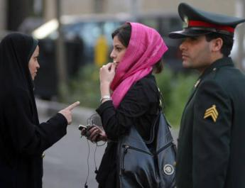 ifmat - Iranian police beat and detain 14 year old girl1