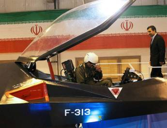 ifmat - Iran's Homemade Fighter Plane Ready