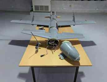 ifmat - Iran built a guided missile in a drone's body for rebels in Yemen