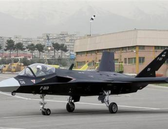 ifmat -Iran demonstrates domestically produced stealth fighter