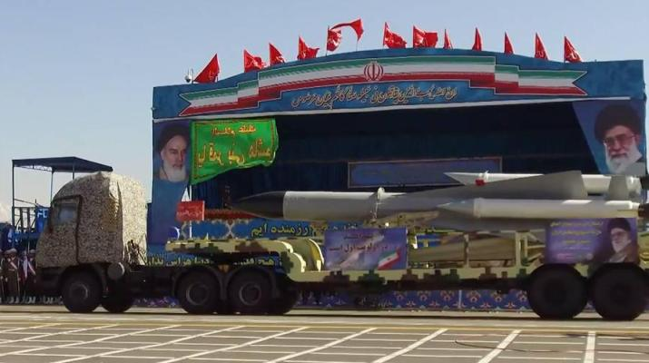 ifmat - Iran shows off newest long-range missiles at Army Day parade