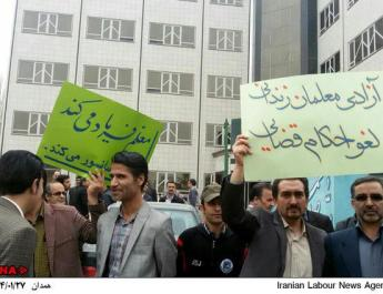 ifmat - 1600 Teachers Demand Irans Judiciary Free Imprisoned Rights Activist