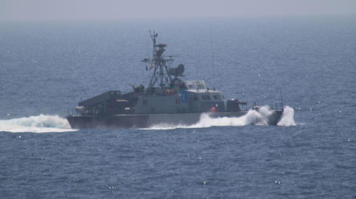 ifmat - Iran seizes Saudi Arabian fishing boat and arrests crew