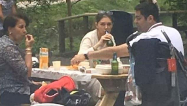 ifmat - Iranian TV host accused of hypocrisy after being filmed drinking beer without a veil
