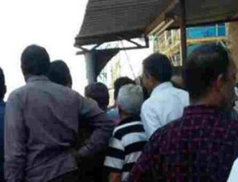 ifmat - Ship Manufacturing Workers Protest Against Delayed Wages