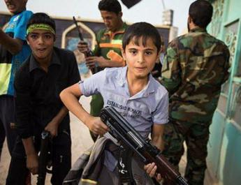 ifmat - Iran-Backed Militias in Iraq Training Children for War