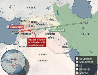ifmat - Thousands of Iranian-backed soldiers are currently in the central Syrian desert