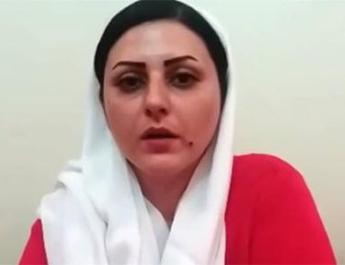ifmat - Female political prisoner protesting in Iran