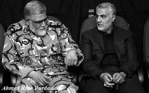 ifmat - Suleimani is the commander of army and IRGC troops in Syria and Iraq