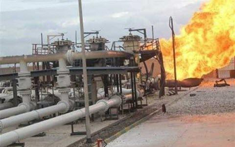 ifmat - Four people killed in an oil field inferno in Iran