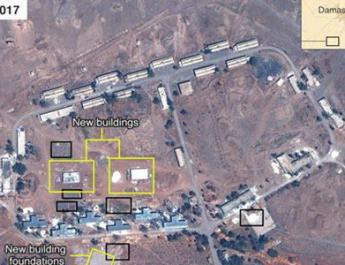 ifmat - Iran regime's millitary base being constructed in Syria