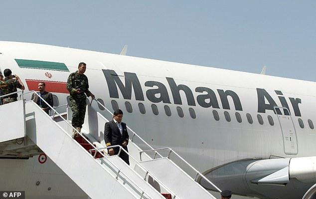 ifmat - Mahan Air terror airlines IRGC runs country largest airline