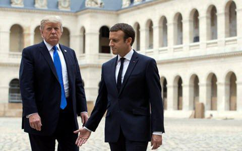 ifmat - Trump, Macron join forces to counter destabilization attempts of Iran regime and Hezbollah