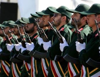 ifmat - Iran guards commander says ready to back Palestinian forces