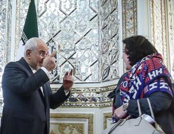 ifmat - Iranian media in tailspin over female British diplomat lack of headscarf
