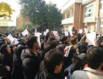 ifmat - Thousands rally in Tehran protesting poor living conditions