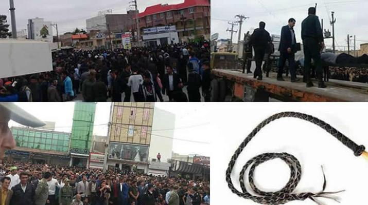 ifmat - Three men were publicly flogged in Iran