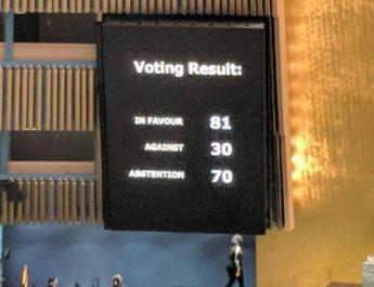 ifmat - UN General assembly adopts resolution against human rights abuses in Iran
