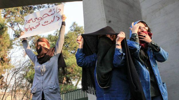 ifmat - iron fist threatened if unrest continues in Iran