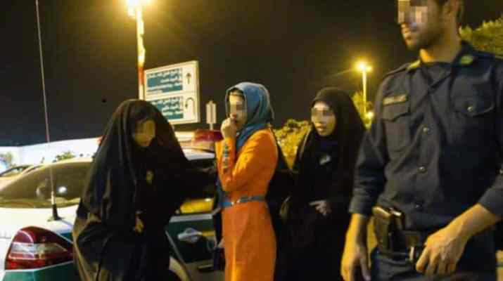 ifmat - men and women arrested in Iran for attending mixed gender party