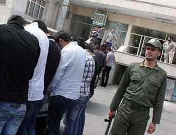 ifmat - 40 arrested in mixed party in Iran