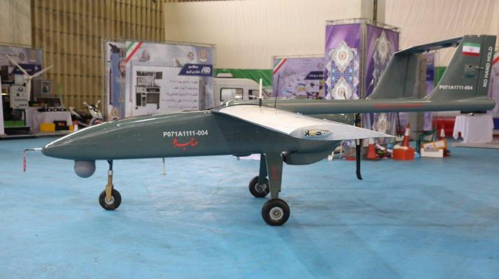 ifmat - Iran starts mass production of combat aerial vehicle