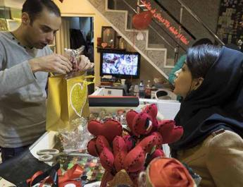 ifmat - Valentine day banned in Kerman Iran