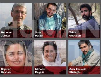 ifmat - Iranian environmentalists reamins detained months after arrests