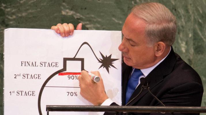 ifmat - Netanyahu Accuses Iran of Building Aggressive Empire