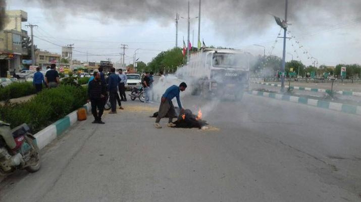 ifmat - Farmers in Iran continue to protest