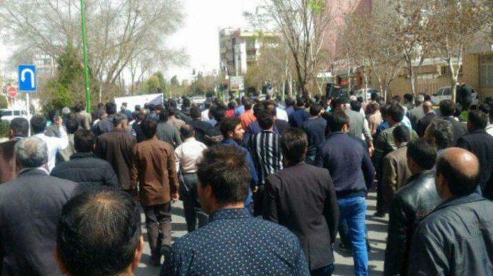 ifmat - Iranian farmers dont have the right to protest