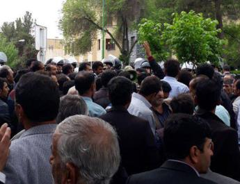 ifmat - More protests against government corruption in Iran