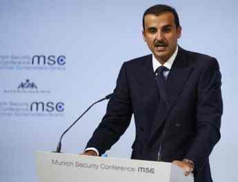 ifmat - Trump discusses Iran threat with Qatar emir