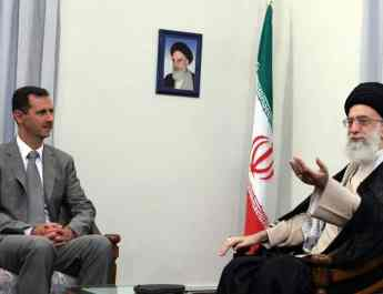 ifmat - Use Iran sanctions to stop Assad