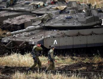 ifmat - Iran fires rockets into Golan Heights from Syria