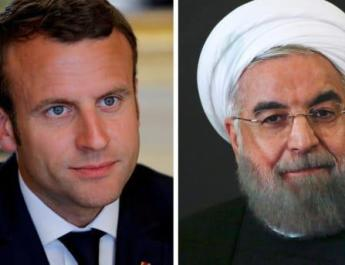 ifmat - Rouhani to Macron Tehran not ruling out military withdrawal from Syria